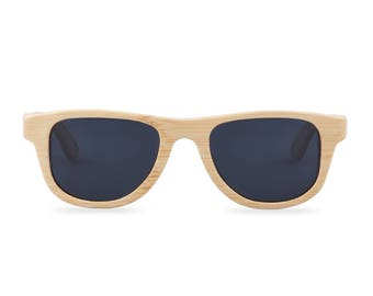 Wooden sunglasses - The Original Wayfarer Small - Black glasses