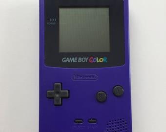 Gameboy Color | Gameboy Colour | Purple