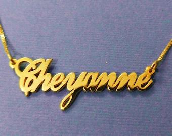 Collier plaqué or collier Pendentif femme métal doré collier pendentif collier créateur collier enfant collier mariage design collier