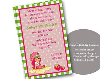 children birthday invitation
