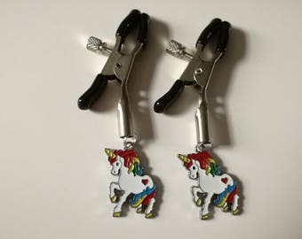 Unicorn Nipple Clamps