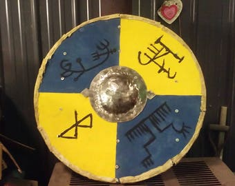 Hand made viking shields made to order