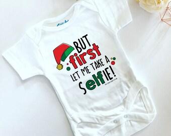Let Me Take A Selfie Baby Vest
