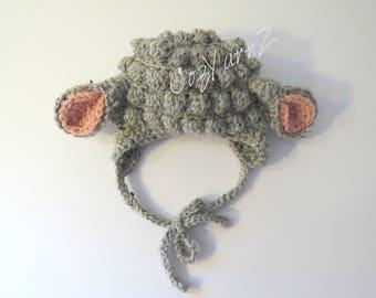 Lamb ear hat