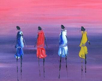 Four Masai Women