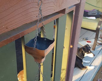 Rain Chain/Cup Patio , Lawn and Garden Decor Yard Ornament Copper