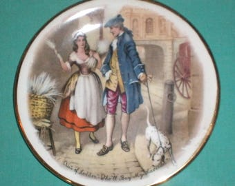cries of London, who will buy ..../small ornamental plate/pottery/British