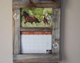 Wall Calendar Frame calendar frame | etsy