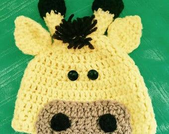 Giraffe Hat for Child