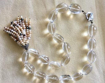 Rock crystals and pearls
