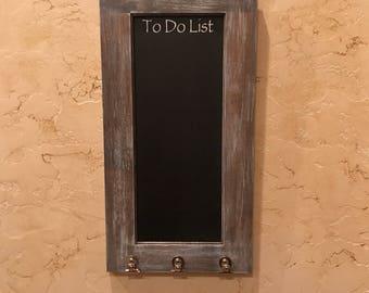 Rustic Farmhouse Chalkboard, To Do List Chalkboard, Kitchen Chalkboard