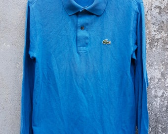Vintage Lacoste Long Sleeve Polo Shirt