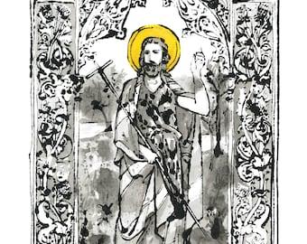 St. John the Baptist - Print only