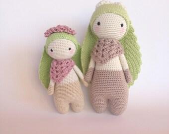 Pattern!! Flory the Leaf-eared Bunny/ crochet pattern/ amigurumi/ EN/ NL /BR