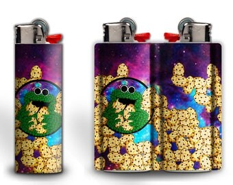 Cookie Monster In Space Lighter