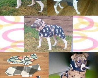 Italian Greyhound and Whippet Winter Jackets