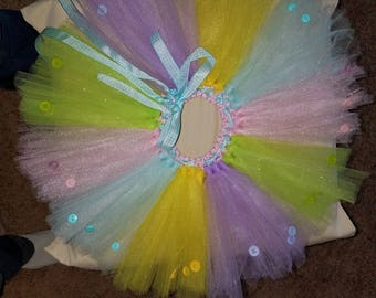Spring tutu skirt (knee length)