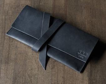 Travel wallets etsy matte black leather travel document holder passport holder travel wallet document organizer gumiabroncs Image collections