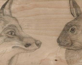 Predator Vs Prey #1: Fox VS Hare