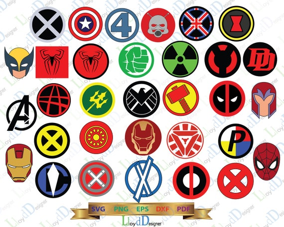 marvel superhero logo svg marvel svg symbol superheroes svg