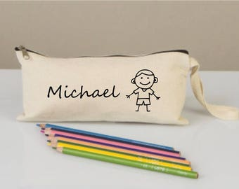 Pencil cases, pencil case for boys, pencil cases boxes, pencil cases personalized,  pencil cases fabric, cotton pencil case,back to school