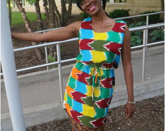 African Prints  Dress- Hassi Shift
