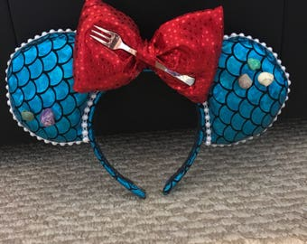 Mermaid headband With Bow