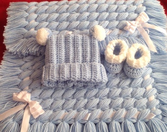 Handmade Crisscross blanket