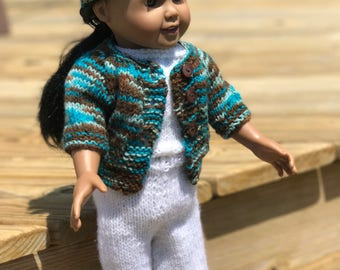 American Girl Knit Sweater & Hat
