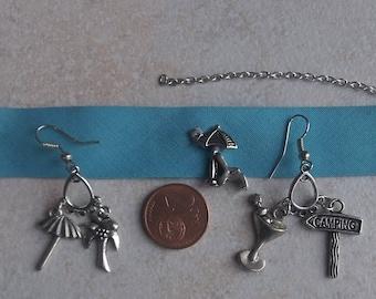 bracelet and Earring Set summer earrings