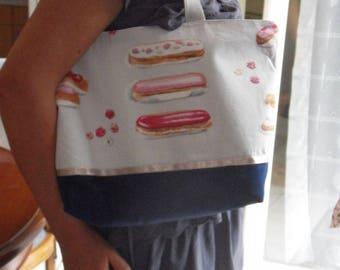 Lightning fabric shoulder bag