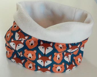 Snood, fleece neck circumference 18-24 months, 2-3 years, 3-5 years