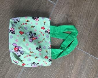 Mini green handbag