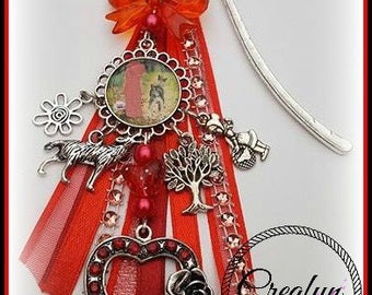 Bookmark inspired by little Red Riding Hood