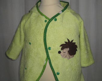TO order and custom - colored Terry bathrobe