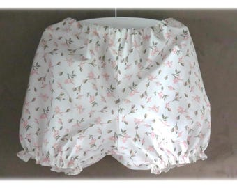 Floral Bloomer size 12 months 100% cotton