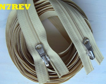Long zipper 3 meters or customized Special tent Camping, large reversible zipper mouth to mouth