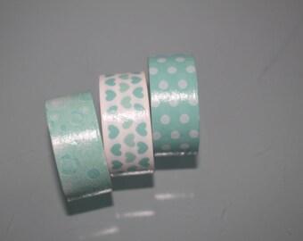 masking tape white turquoise 3