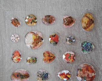Diamond stickers scrapbooking card making, home deco
