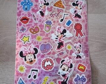 Stickers minnie scrapbooking stickers