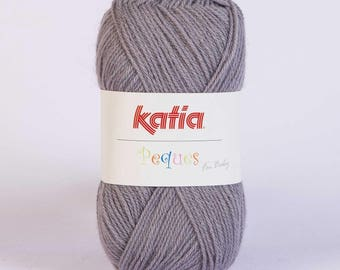Easter from Katia 84937 gray color wool