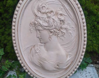 """frame """"cameo"""" staff, weathered old"""