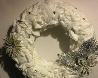 wreath door 'gently'