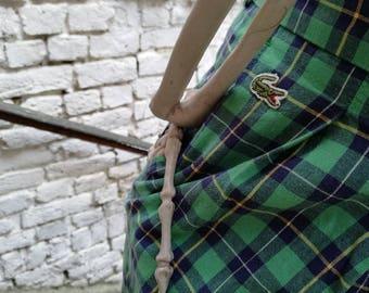 LACOSTE Vintage Plaid shorts