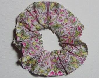 Pink girl Liberty Loden scrunchie