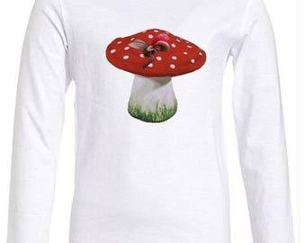Girl long sleeve white, red or white T-shirt!