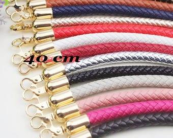 40 cm handle bag handle braided shoulder strap loop within 15 days