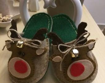 Christmas Slippers for children
