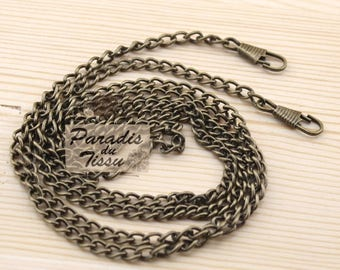 120cm chain link 5mm for bag clip with