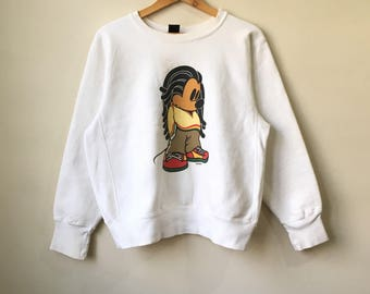 Vintage MICKEY Unlimited Sweatshirt Mickey Mouse Spellout